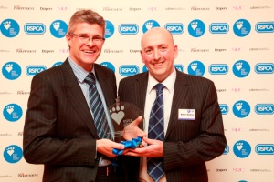 The Co-operative - Ian Burgess, Robert McBride picking up their award