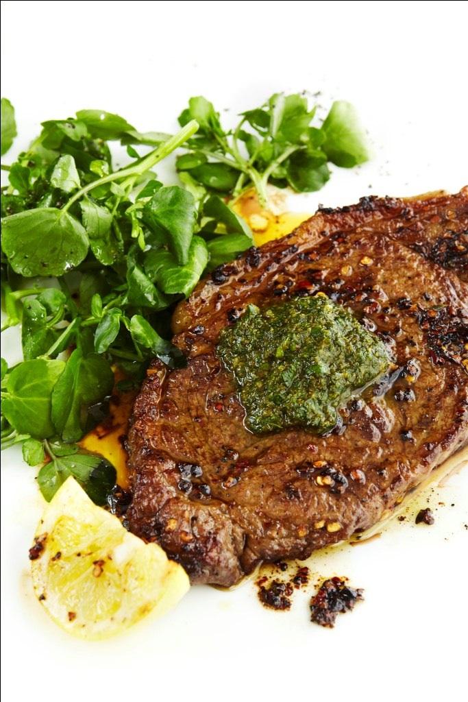 Steak & Chimichurri Sauce 2